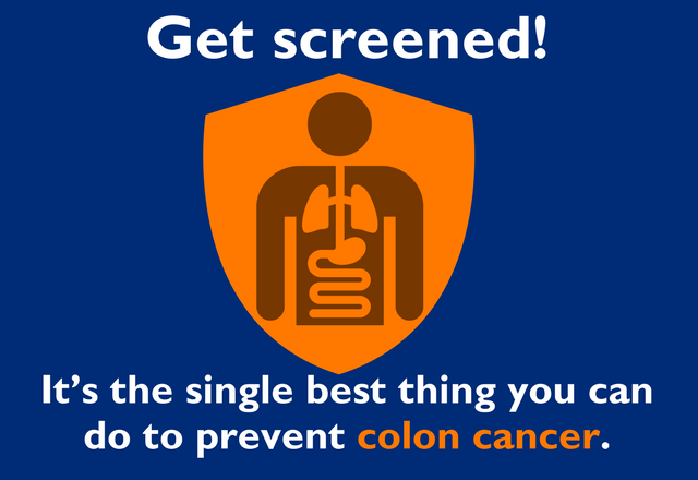 a colorectal cancer screening