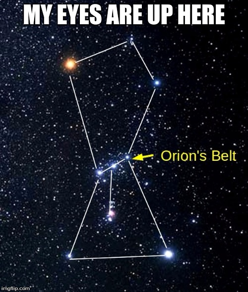 orion belt)