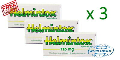 helmintox pyrantel 250mg)