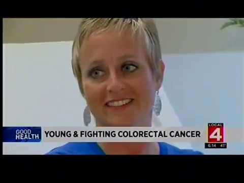 colorectal cancer young woman)