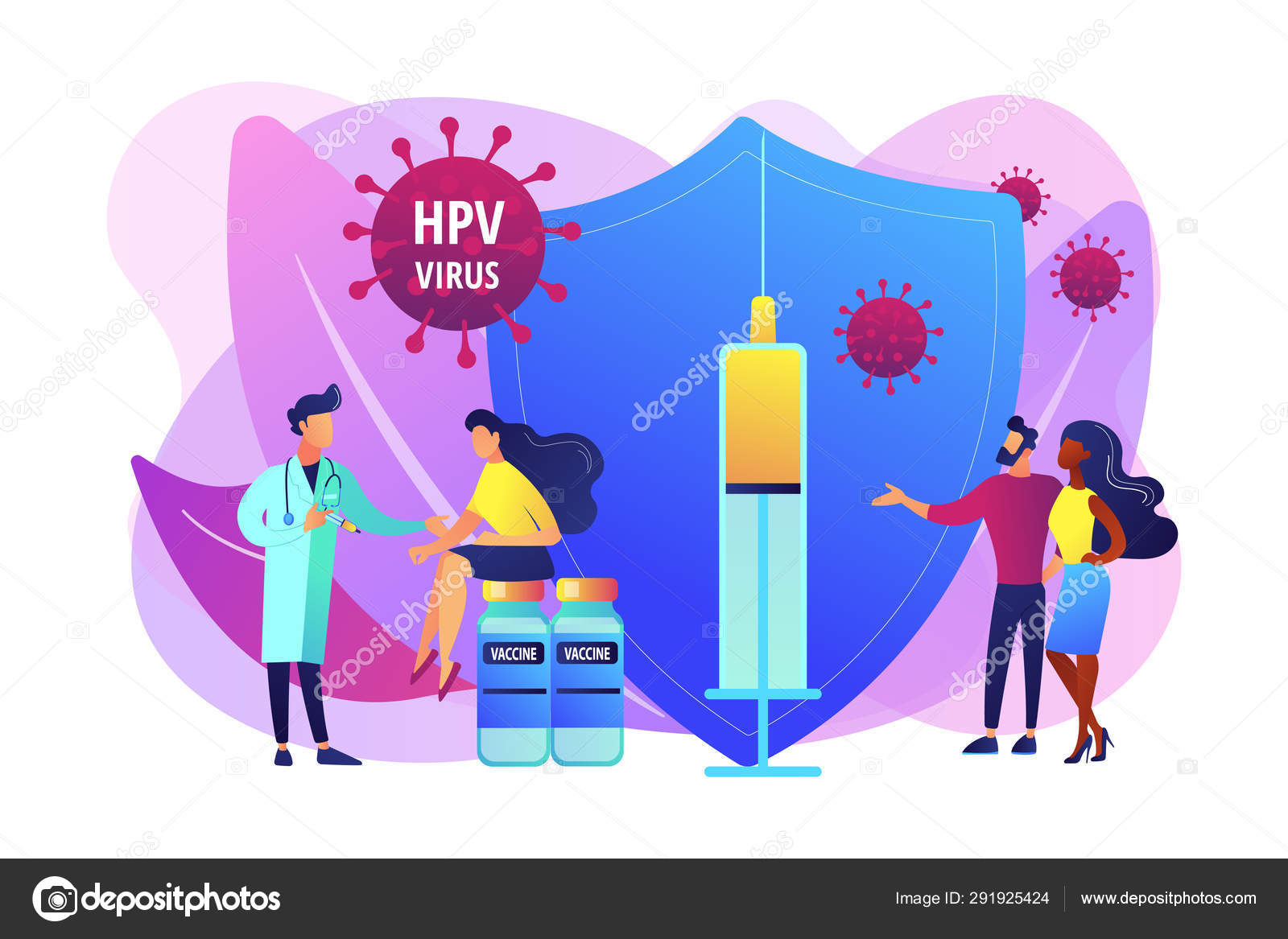 human papillomavirus vaccination program)