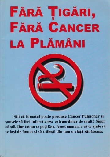 cancer la plamani tigari