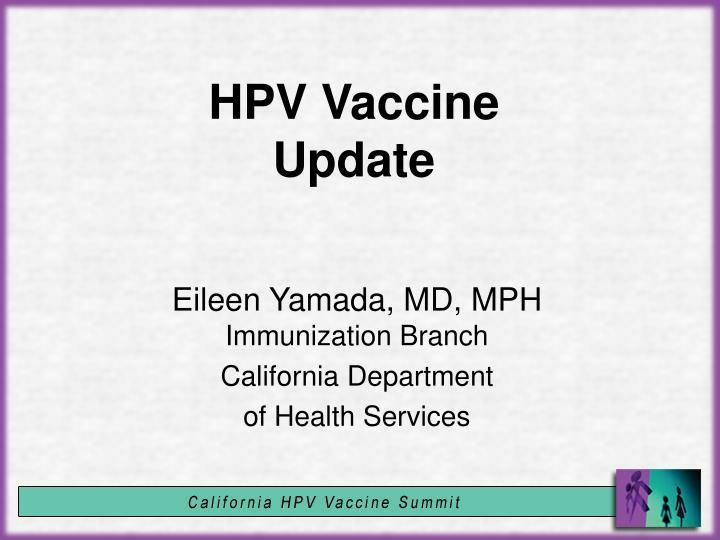 hpv vaccine ppt)