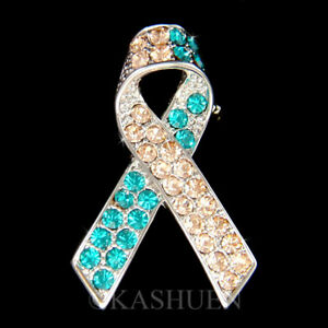 ovarian cancer jewelry swarovski
