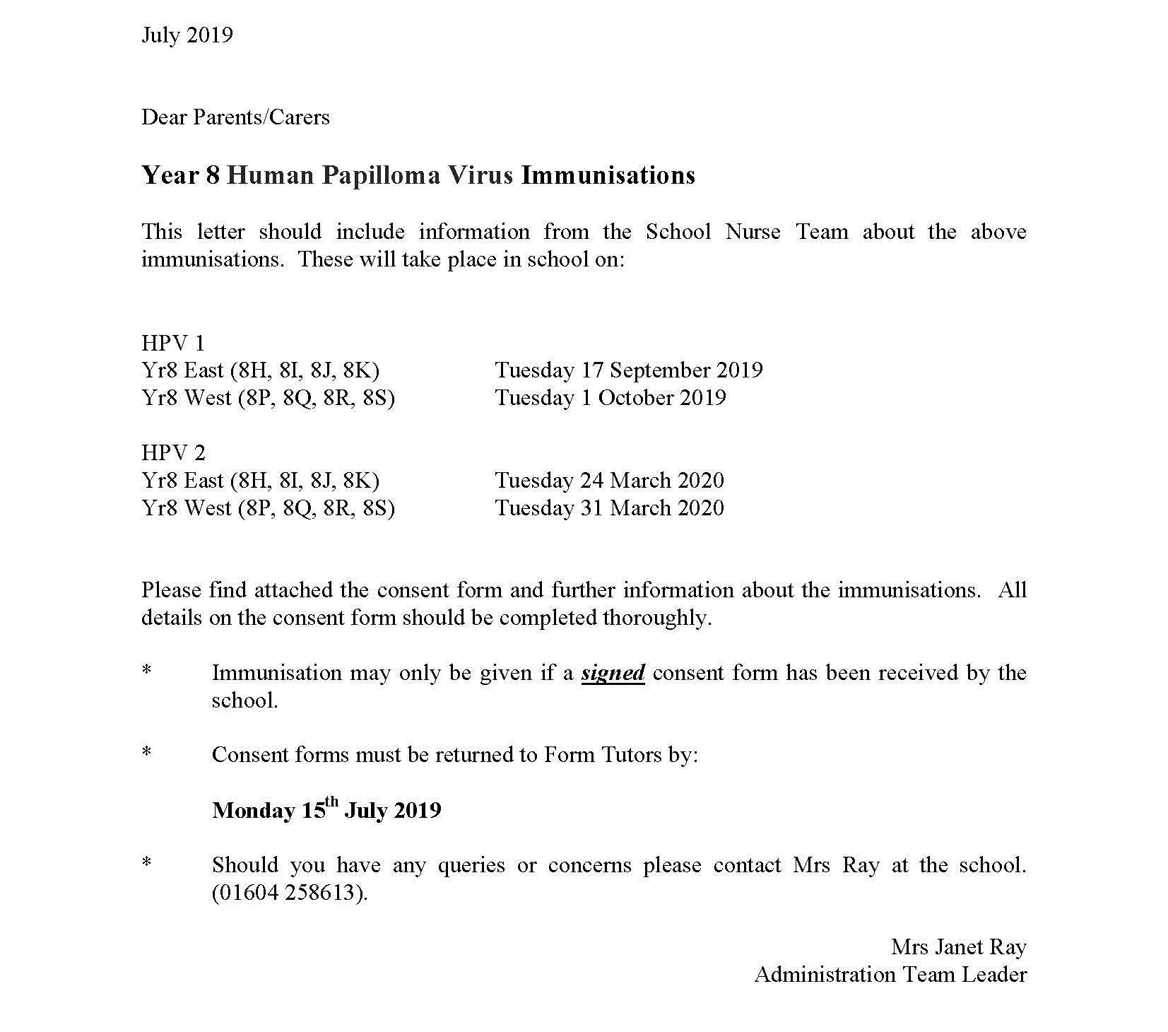 nhs hpv consent form)
