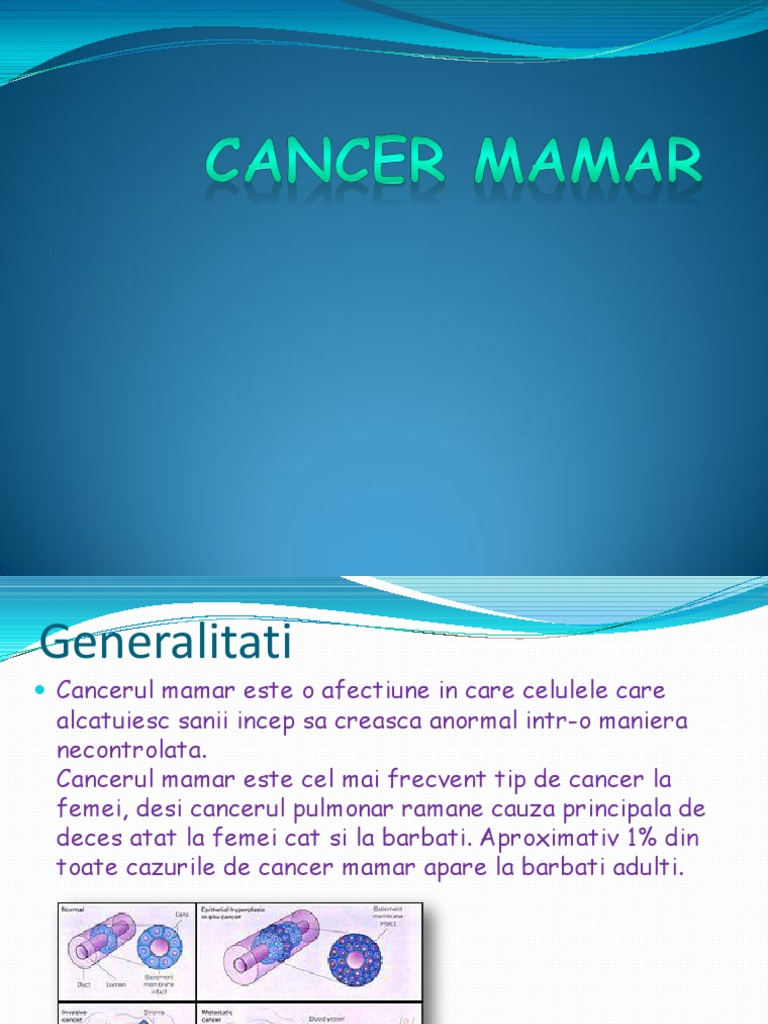 cancer mamar recidiva