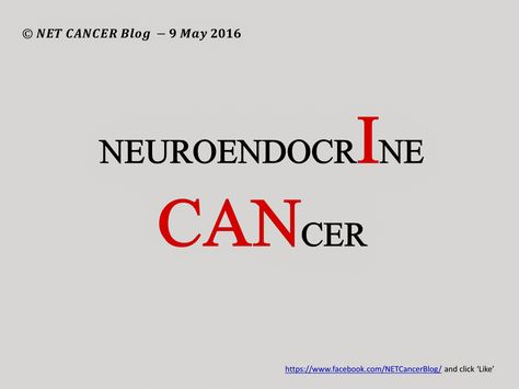 neuroendocrine cancer blogs)