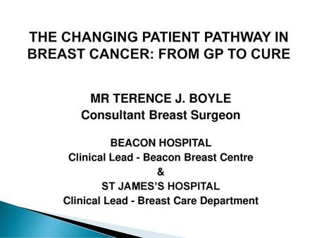 cancer genetic testing beaumont hospital)