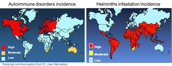 helminth disease epidemiology)