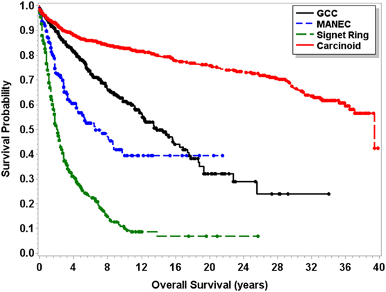 endocrine cancer survival rate)