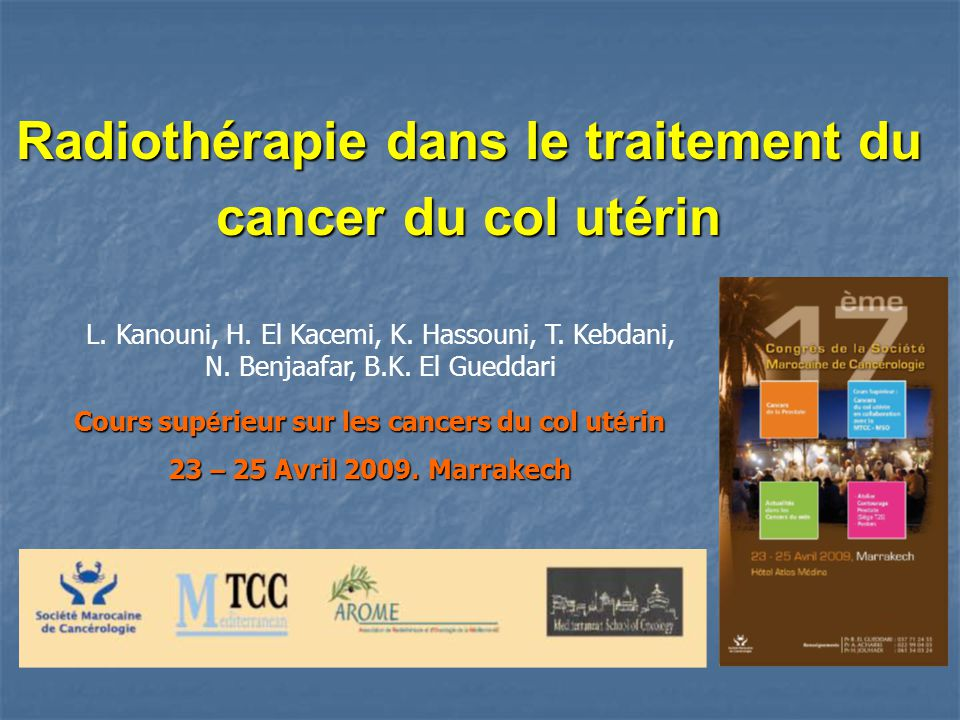 cancer col uterin traitement)