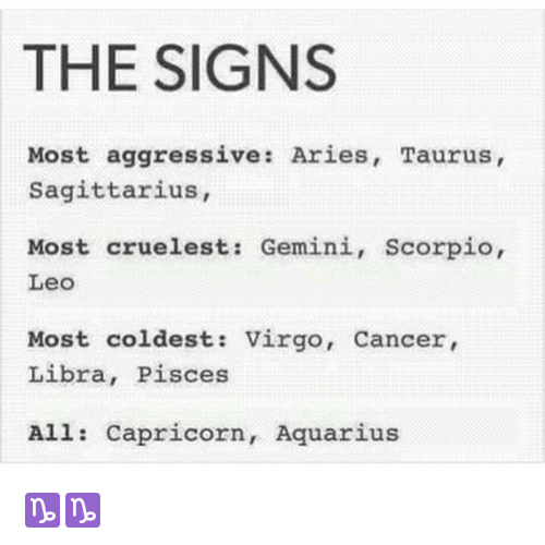 cancer sign aggressive)