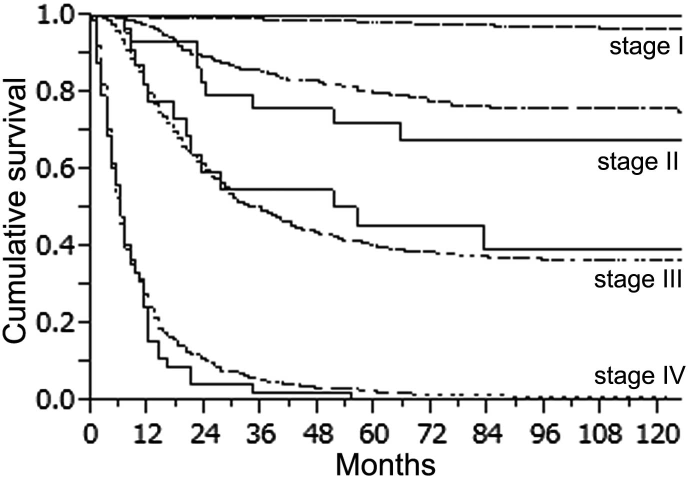 gastric cancer recurrence rate