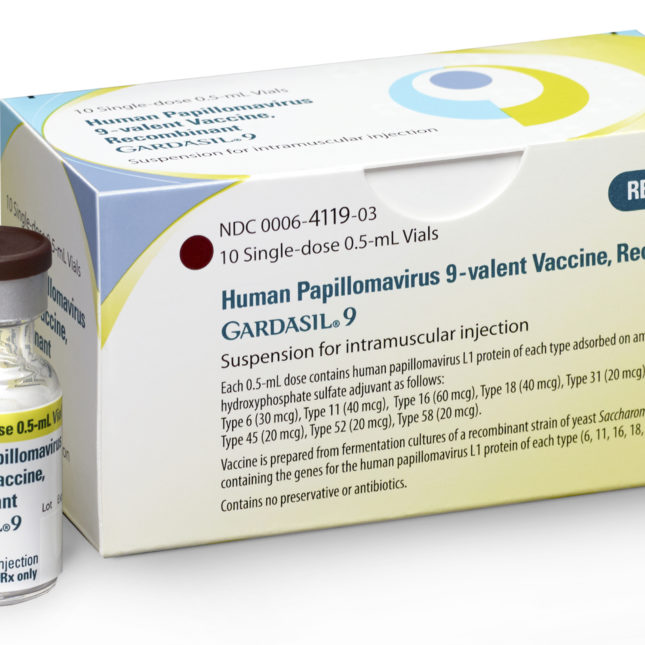 hpv virus vaccine 9 vial im