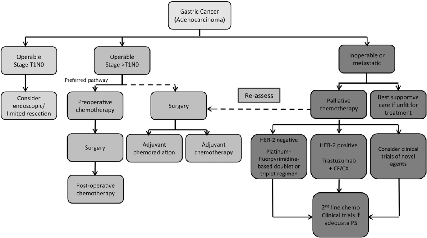 gastric cancer guideline esmo)