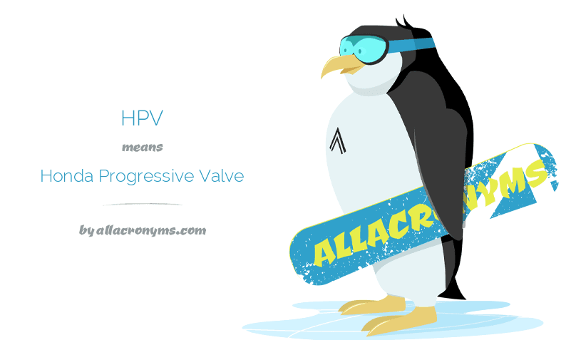 hpv acronym meaning)