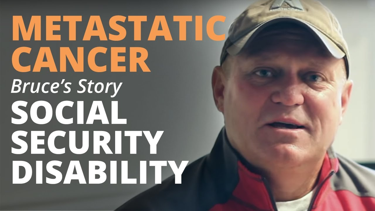metastatic cancer disability