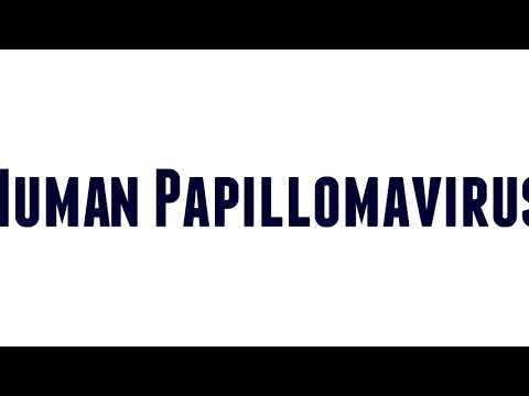 pronunciation for papillomavirus)