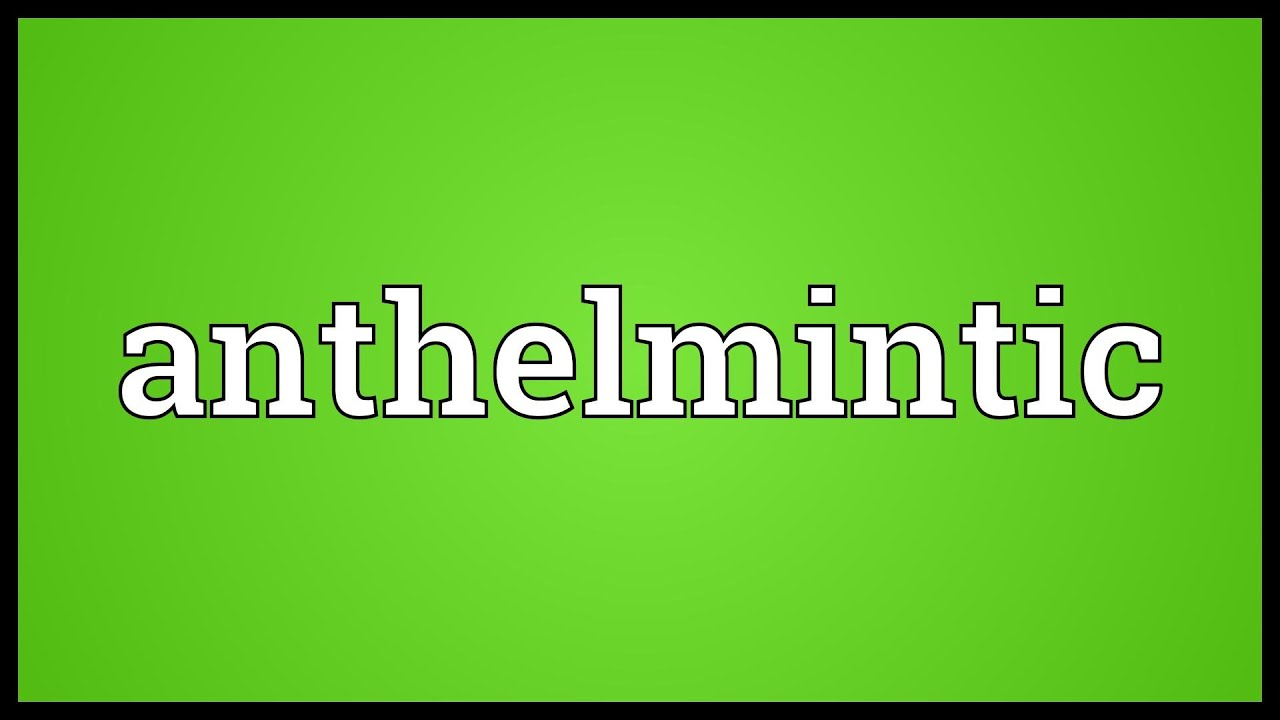 anthelmintic tamil meaning)