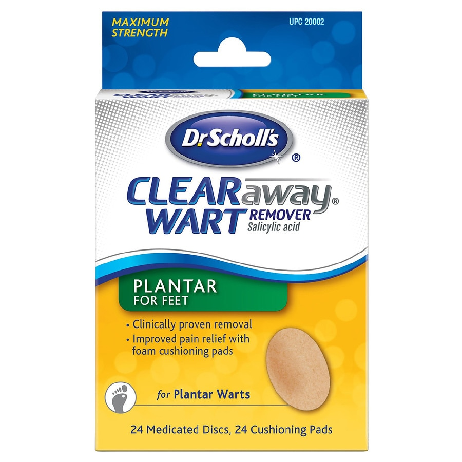 foot wart treatment over the counter)