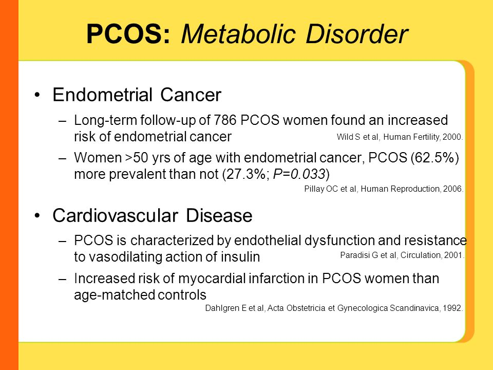 endometrial cancer from pcos)